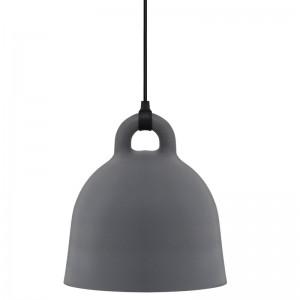 Lámpara de suspensión Bell grande color gris de Normann copenhagen