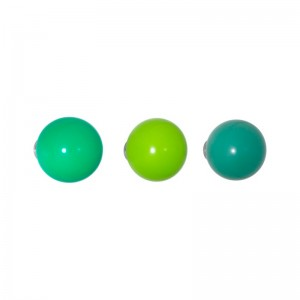 Perchero Coat Dots verde - Vitra