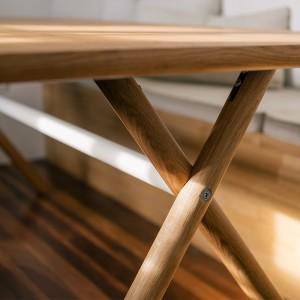 Detalle patas mesa Bai de Ondarreta