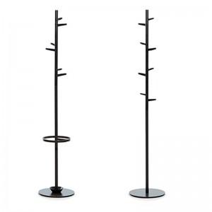 Paragüero y perchero con paragüero Taiga color gris oscuro Mobles 114