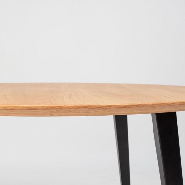 Detalle cento mesa redonda Bob de Ondarreta en Moises Showroom