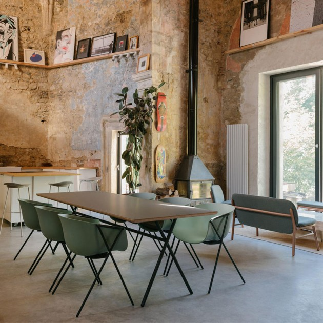 silla bai verde cantabrico de Ondarreta