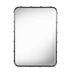 Espejo Adnet rectangular S negro de Gubi en Moises Showroom
