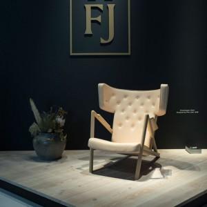 Ambiente 2 sillón Grasshopper roble de Finn Juhl en Moises Showroom
