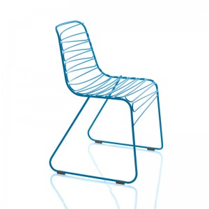 Silla Flux de Magis color azul