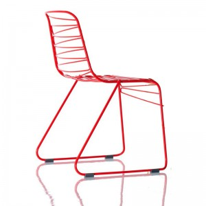 Silla Flux de Magis color rojo