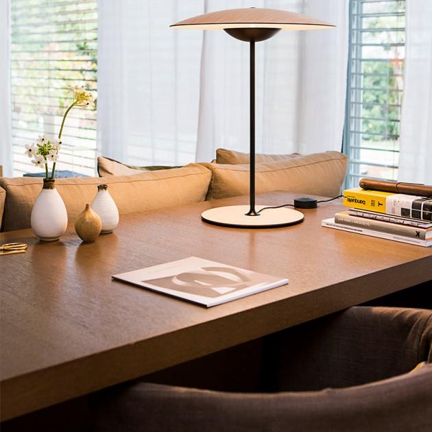 escritorio lámpara sobremesa Ginger S Marset roble
