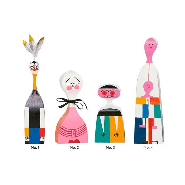 Wooden Dolls Vitra