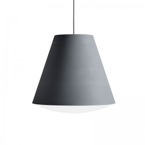 Lámpara Sinker Pendant L dusty grey de HAY en Moises Showroom
