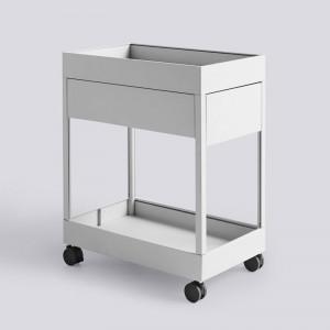 Cajonera New Order Trolley de HAY color gris claro en Moises Showroom