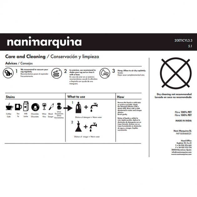 cuidados Alfombra exterior Shade Palette 4 Nanimarquina