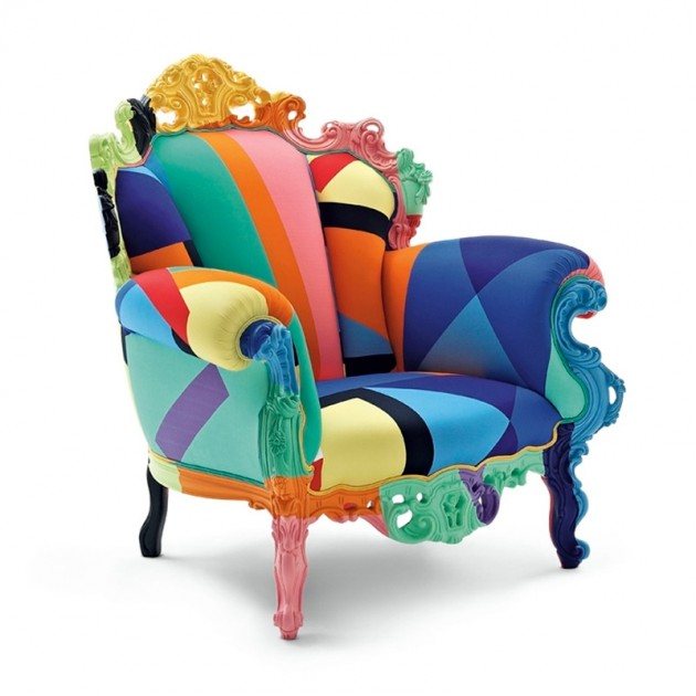 Proust Geometrica sillón Cappellini