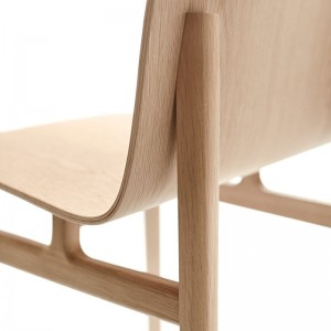 Silla Terra Wood roble natural de Omelette-Ed en Moises Showroom