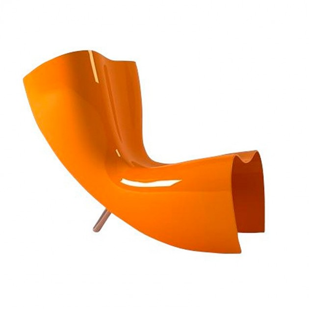Silla Felt naranja Cappellini