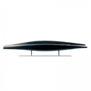 Sofá Inout fibra de vidrio negro Cappellini