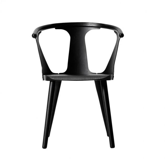 Comprar silla roble lacado negro In Between SK1 &Tradition