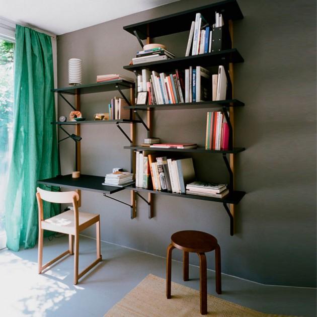habitación escritorio Kaari Artek
