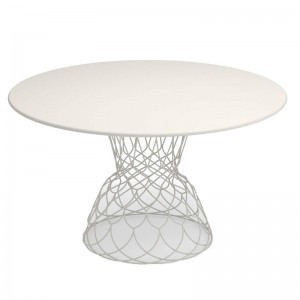 mesa Re-Trouvè diámetro 130 Emu blanco