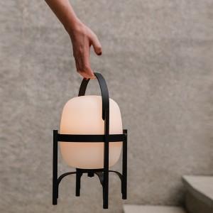 lámpara portátil cestita Alubat Santa&Cole
