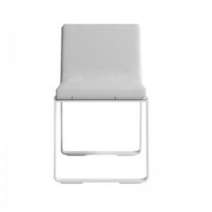 silla sin brazos Flat blanca Gandia Blasco
