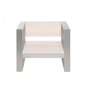sillón Na Xemena anodizado Gandia Blasco