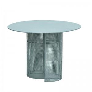 mesa de comedor Arena Isimar color esmeralda