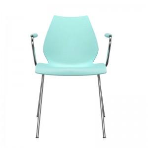 comprar silla Maui con brazos Kartell celeste