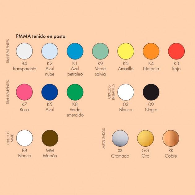 colores lámpara FL/Y Kartell