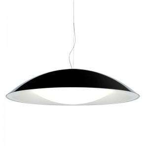 lámpara Neutra negra/blanca Kartell