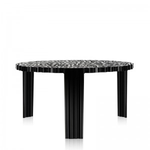 mesa baja T- Table Kartell negra