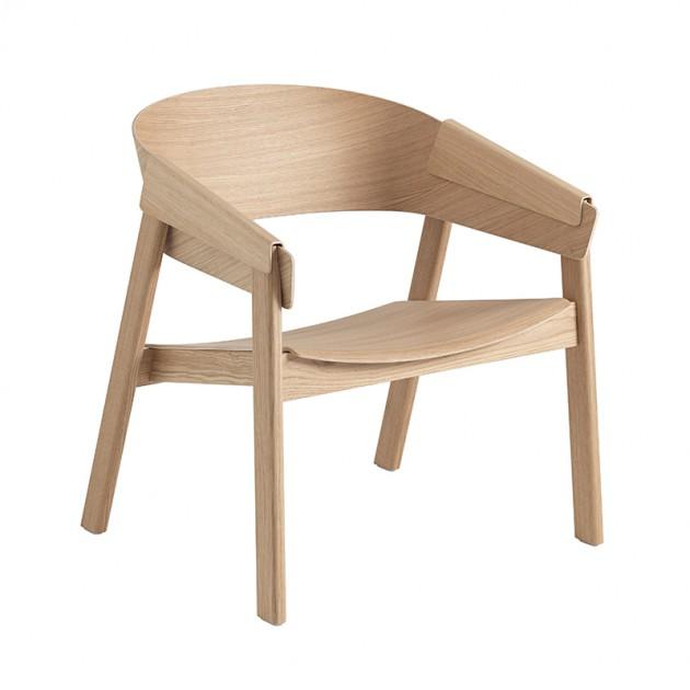 Butaca Cover Lounge Chair roble de Muuto en Moises Showroom