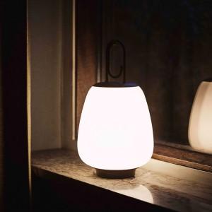 detalle lámpara portátil Lucca SC51 &Tradition