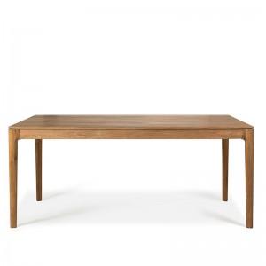 mesa de comedor extensible Bok teca Ethnicraft