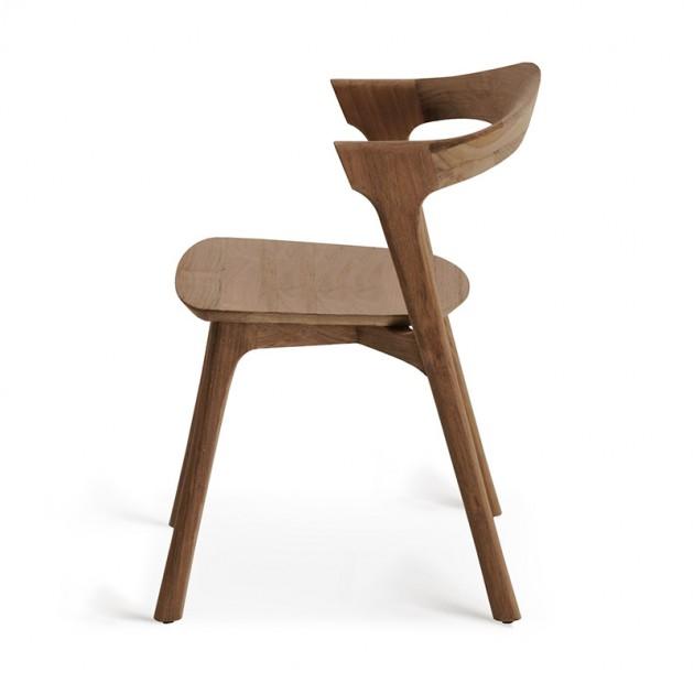 respaldo silla de comedor Bok teca Ethnicraft