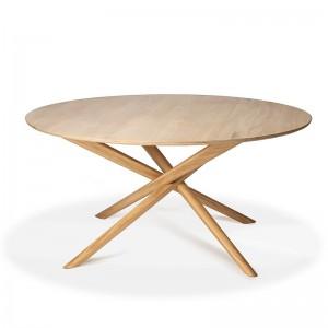 mesa de comedor Mikado redonda Ethnicraft
