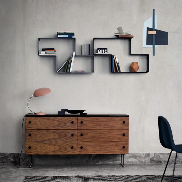 Dedal Shelf de Gubi en ambiente 4 Moises Showroom