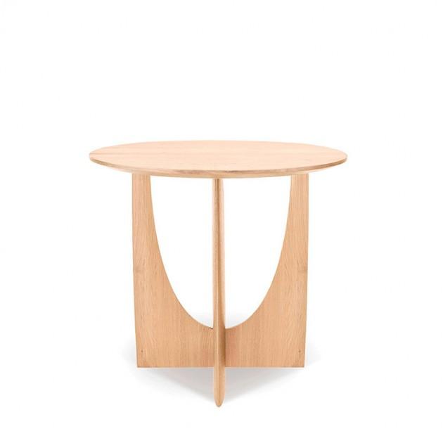 estructura mesa auxiliar Geometric Roble Ethnicraft