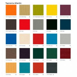 Carta de colores tapicería Atlantic
