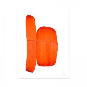 Póster Drawing 2018 orange - Vitra