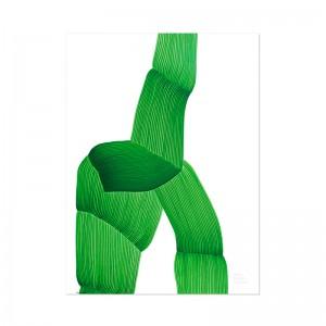 Lámina Vitra Drawing 2019 Green
