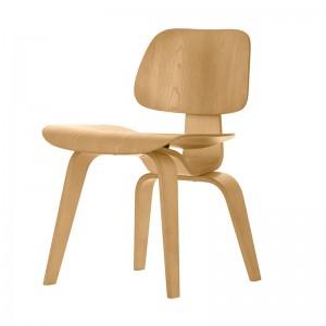 silla de comedor DCW fresno natural Vitra