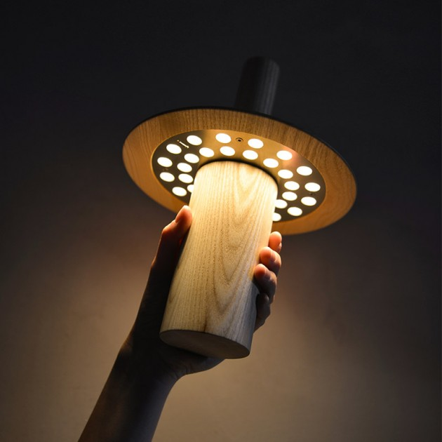 Lámpara Pepa batería Astep iluminada