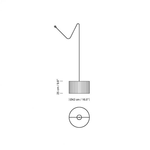 medidas Nagoya lamp