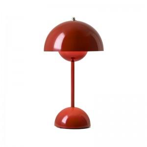 Flowerpot VP9 rojo marrón & tradition