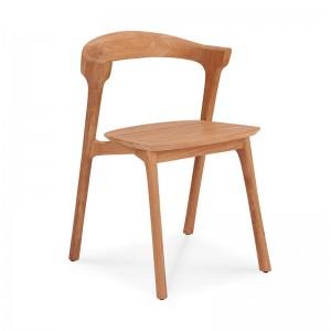 silla Bok de comedor exterior teca Ethnicraft