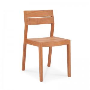 silla de comedor de teca EX1 Ethnicraft