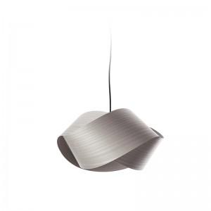 Lámpara Nut gris plata LZF