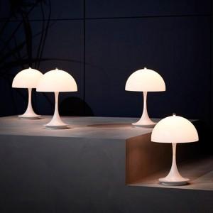 ambiente lámparas portátiles Panthella Louis Poulsen