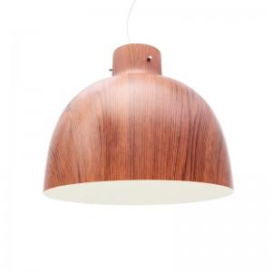 Lámpara de suspensión Bellisima de Kartell efecto madera en Moises Showroom