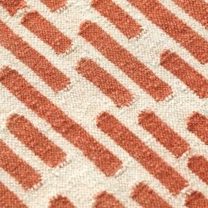 Detalle Kilim THAY Taupe de Gan Rugs en Moises Showroom